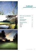 Golfens Grønne Regnskab 2011 - Dansk Golf Union - Page 2