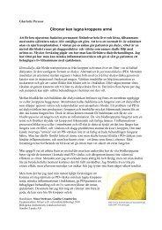 Citroner kan lugna kroppens armé - IT - Lunds universitet
