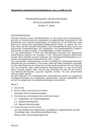 Wilhelm T. Wolze Anomalie ohne Krisenbewusstsein 3.1 Integration ...