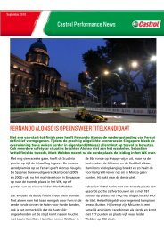 Castrol Performance News, september 2010 , pdf , 819KB