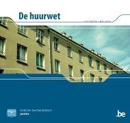 De huurwet - achtste editie augustus 2007 - Billionhomes Blog Europe