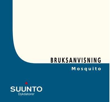 BRUKSANVISNING - Suunto