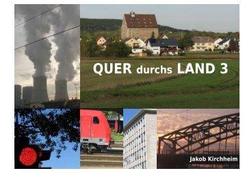 Quer durchs Land 3 --- Seite 1 bis 11 als PDF ... - Jakob Kirchheim