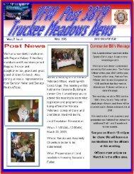 newsletter Mar 2013 - Truckee Meadows VFW Post 3819
