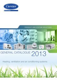 GENERAL CAtALoGuE 2013 - Carrier Portugal