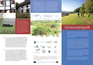 Drielandenpark folder - ARK Natuurontwikkeling