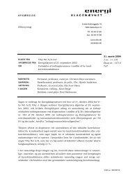 2004.03.31 Viby Net ctr. Energitilsynet vedr. forhøjelse af ...