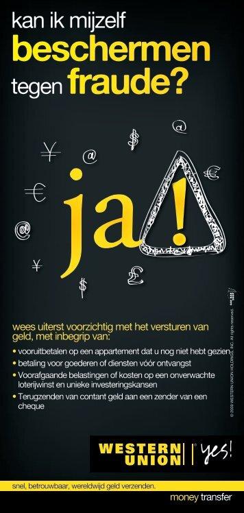 beschermen tegen fraude? - Orfinance