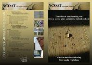 Download hier de complete NCOAT productfolder