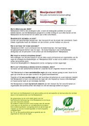 Meetjesland 2020 - Meetjesland.be