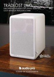 Tips och guider för trådlöst ljud - Audio Pro