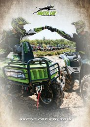 arctic cat atV 2013
