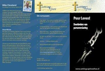 Brochure Puur Leven! - Setting Captives Free