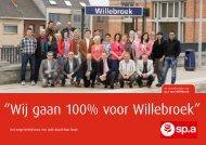 """""""Wij gaan 100% voor Willebroek"""" - sp.a Willebroek"""
