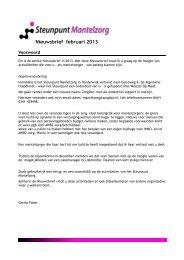 mantelzorg-nieuwsbrief-feb-2013-harderwijk - ZorgDat | support in ...
