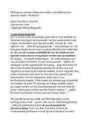 Tijdschrift voor Orthopedagogiek - KansPlus Rijnstreek