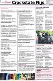Crackstate Nijs week 27 - 4 juli 2012 - Gemeente Heerenveen