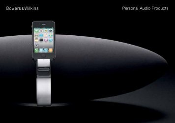 C5-brochure downloaden - Bowers & Wilkins