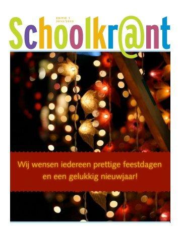Editie 1, 2012/2013