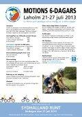MOTIONS 6-DAGARS eller HALVSEXAN - Laholmscyklisten - Page 2
