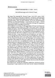 Oberbürgermeister in Jena 1945/46. Aus den Erinnerungen von Dr ...
