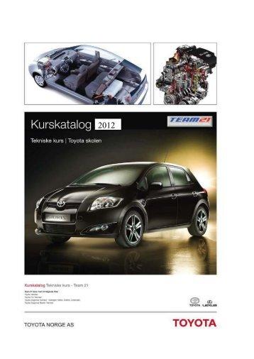 Ekstern uautoriserte 2012 - Toyota Norge AS
