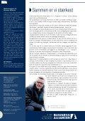 FrA udkANTSoMråde Til græNSeregioN - Business Alliancen - Page 2