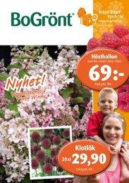 Nyhet! - Skinnarnas Blommor & Trädgård