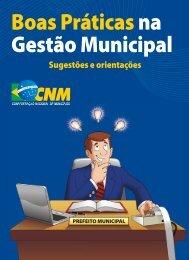 Boas práticas na gestão municipal - Confederação Nacional dos ...
