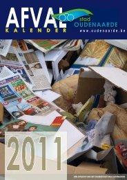huisVuiLKALENDER 2011 - Stad Oudenaarde