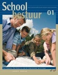 Schoolbestuur 1-2009.pdf - Meulenbeld Communicatie & Concept