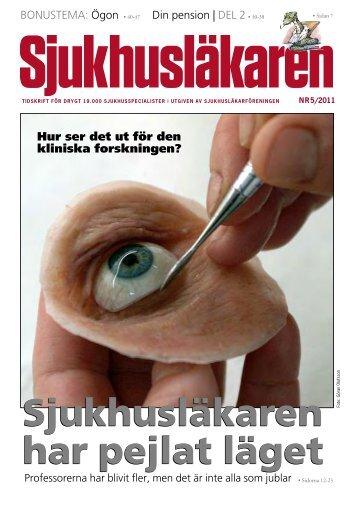 PDF-tidning nr 2011-05 - Sjukhusläkaren