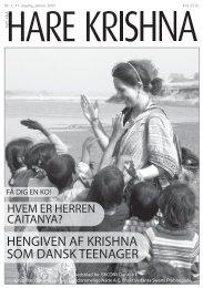 HENGIVEN AF KRISHNA SOM DANSK TEENAGER - Nyt fra Hare ...