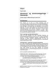 C2@1 Aluminium og aluminiumlegeringer - Standarder - Materials.dk