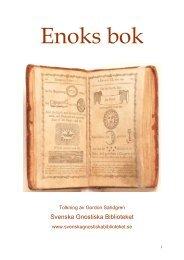 Enoks bok - Svenska Gnostiska Biblioteket