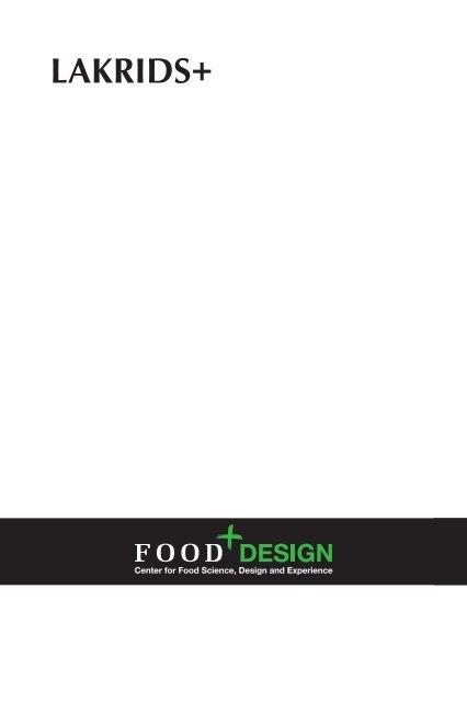 LAKRIDS+ - Food Plus Design