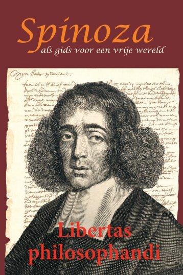 Libertas philosophandi Spinoza - Bibliotheca Philosophica Hermetica