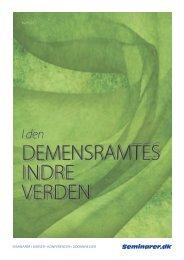 I den demensramtes indre verden (PDF) - Seminarer