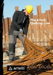 The Artelli Clothing Line