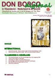 inhoud internationaal vlaanderen & nederland - Don Bosco
