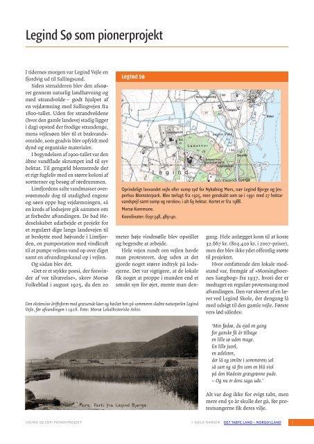 Legind Sø som pionerprojekt - Det tabte land