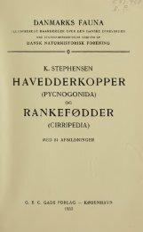 Danmarks fauna; illustrerede haandbøger over den ... - Google Drive