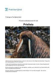 Prislista - CMS Office