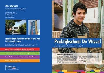 Praktijkschool De Wissel - Het Stedelijk Lyceum