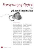 LIGHEDSTEGN - Center for Ligebehandling af Handicappede - Page 6