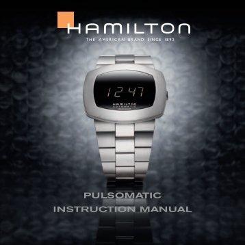 PULSOMATIC InSTrUCTIOn MAnUAL - Hamilton