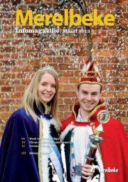 Infomagazine// Maart 2013 - Gemeente Merelbeke