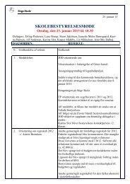 Referat - Skolebestyrelsen 23-01-2013 - Stige Skole