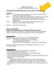 10-05-10 - Protokoll SCHELLE