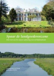 Horst en Voorde Brochure - Vereniging tot behoud van Oud, Groen ...
